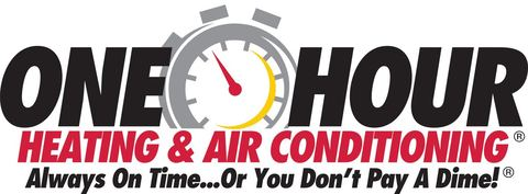 One Hour Heating & Airconditioning Logo